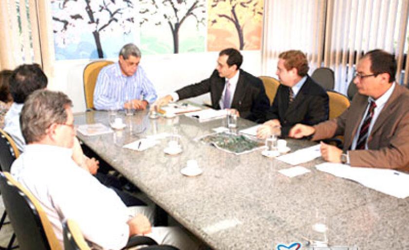 Reunião do governador com representantes das empresas de transmissão de energia