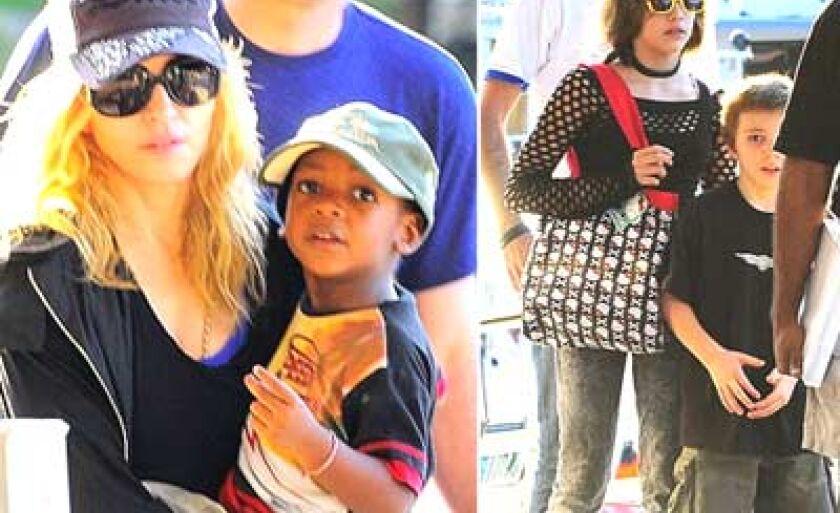 Madonna, Rocco e Lourdes Maria