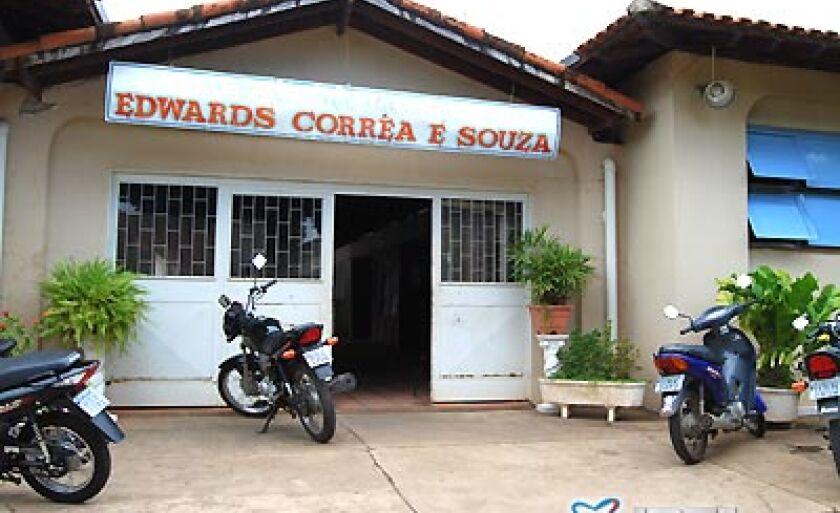 Escola Estadual Edwards Corrêa e Souza, que será beneficiada com recursos para sua reforma