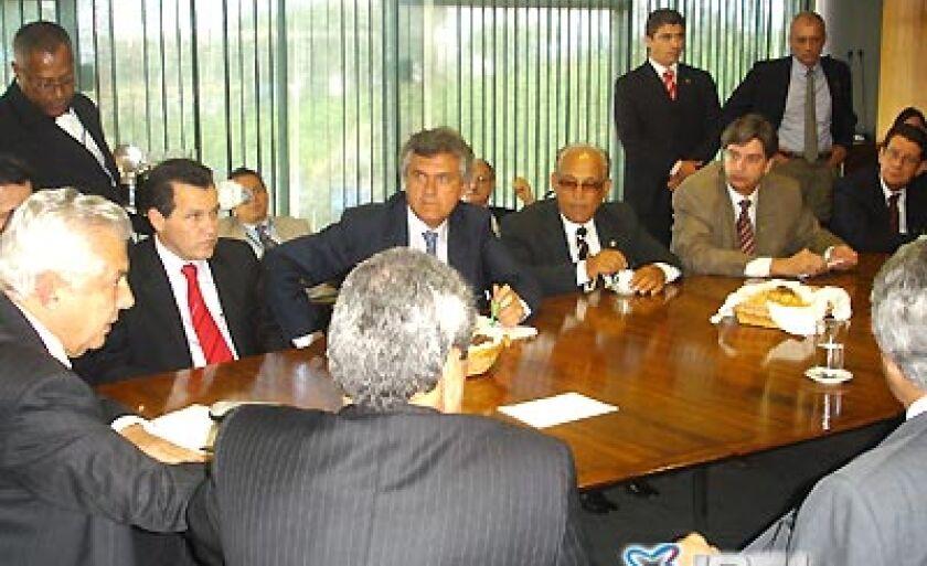 Deputados e governadores do Centro Oeste acompanharam na Câmara dos Deputados a votação que recriou a Sudeco