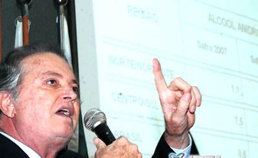 Wagner Rossi explica sobre a situação do mercado e também sobre a safra