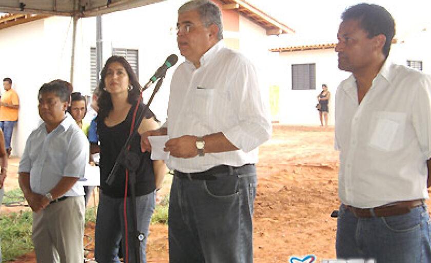 Secretário Marun anunciou o propósito do governo em atingir o número de mil casas construidas na Cidade