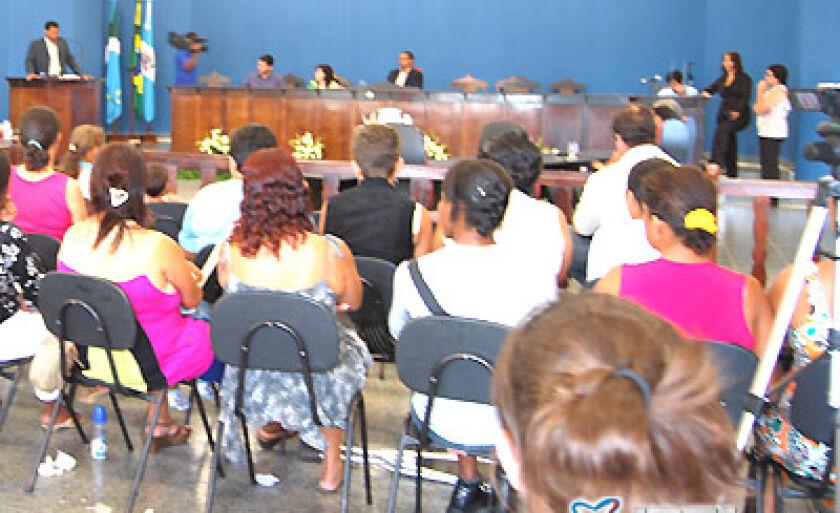 Na terça-feira (16), aconteceu a última sessão ordinária da Câmara de Vereadores, em 2008