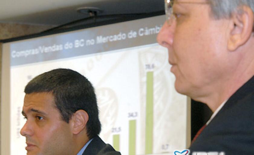O diretor de Política Econômica do BC, Mário Mesquita, fala sobre medidas adotadas para enfrentar a falta de crédito por causa da crise internacional