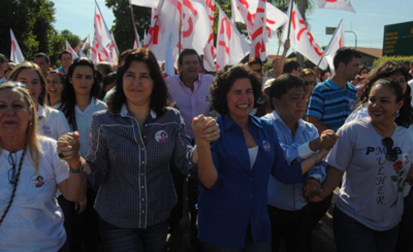 Sábado foi o lançamento da campanha de Márcia Moura