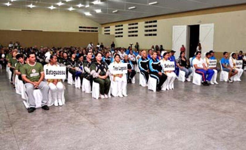 Três-lagoenses destacaram-se em Bataguassu, local da realização dos Jogos Regionais