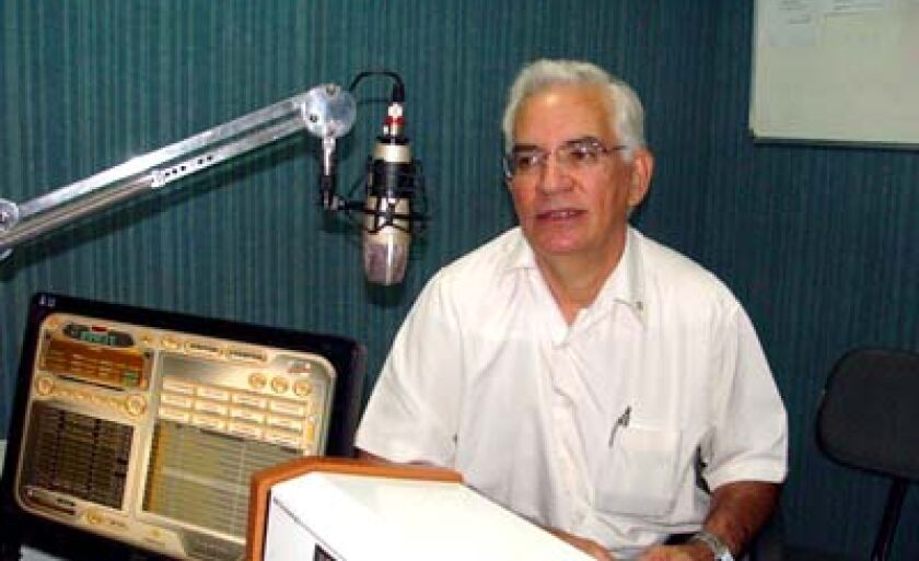Comerciante Sueide Silva Torres durante o RCN Notícias desta terça-feira