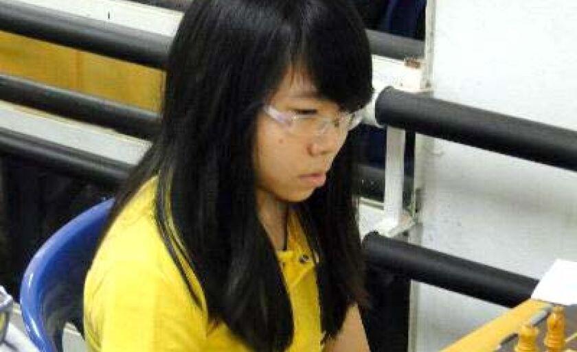 Flávia Hasegava, da Funlec, vai disputar o xadrez das Olimpíadas Escolares