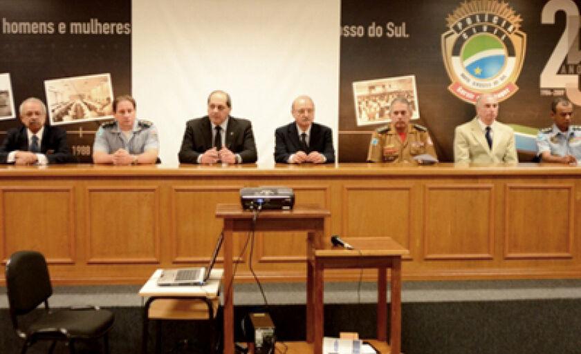 Programa é coordenado pelo Secretário de Segurança Pública, Wantuir Jacini