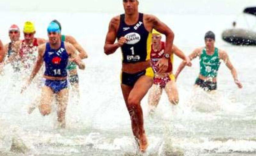 No fasttriathlon (triathlon rápido), são 4 km de corrida pedestre