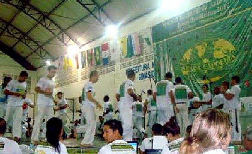 Festival Nacional da Arte Capoeira e Jogos Brasileiros aconteceram no RJ