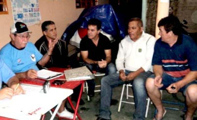 Diretores do Misto em uma das reuniões realizadas na temporada 2011