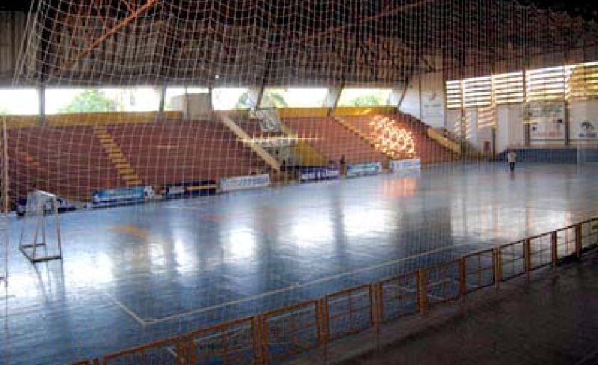 Melhorias do ginásio foram orçadas em uma primeira análise em R$ 1 milhão