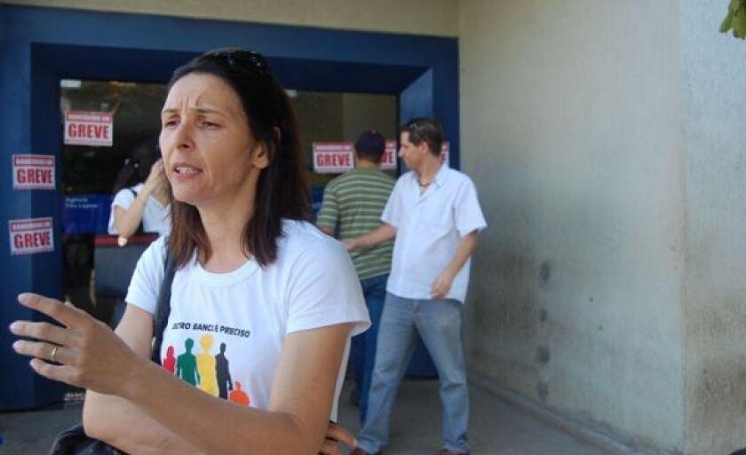 Presidente do sindicato, Thelma Regina Canisso