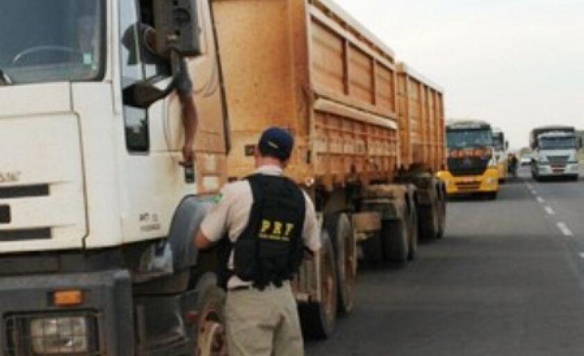 Fiscalização da jornada de trabalho de caminhoneiros será mais rigorosa a partir dessa quarta