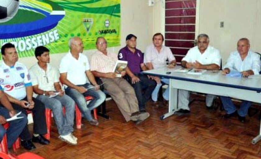 Reunião dos clubes de MS contou com a presença do presidente do Misto