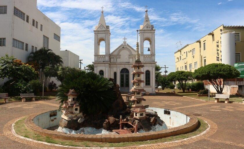 Fonte da Igreja do Santo Antônio está desativada há anos