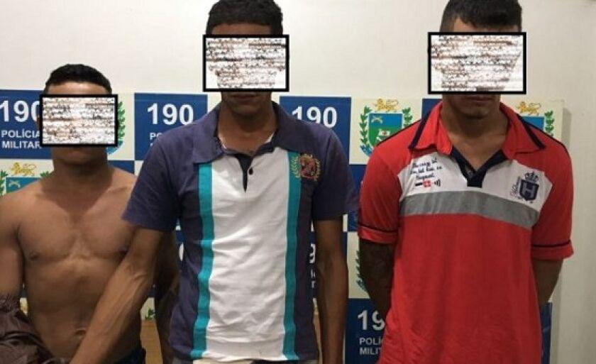 Quadrilha rural é presa durante operação para prender ladrões de banco