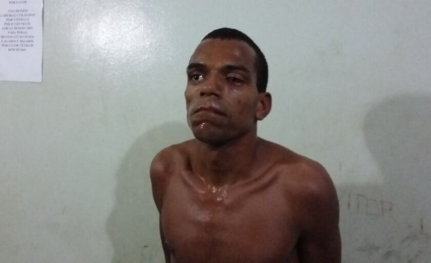 Rafael Francisco foi preso em flagrante