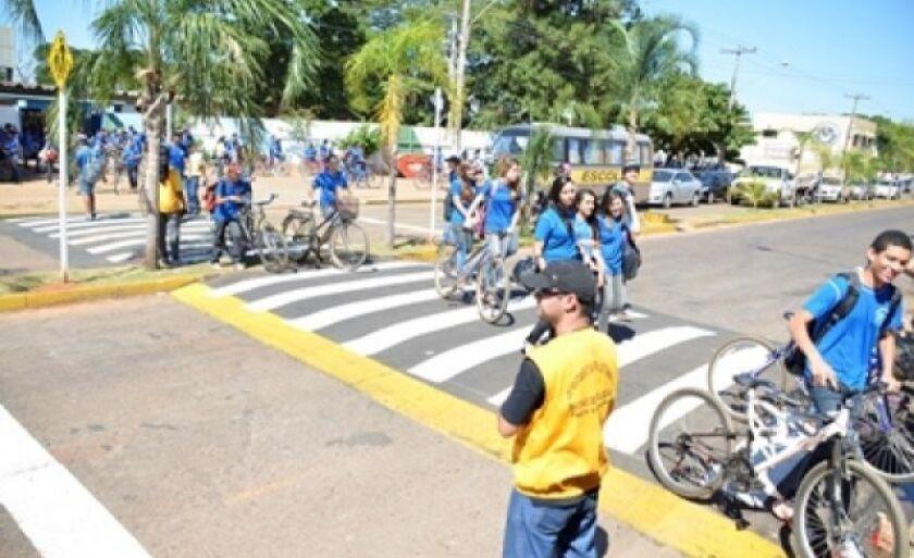 Três Lagoas terá mais 20 faixas elevadas para pedestres
