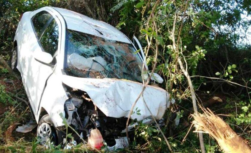 Acidente foi registrado na MS- 112, rodovia que liga Três Lagoas a Inocência