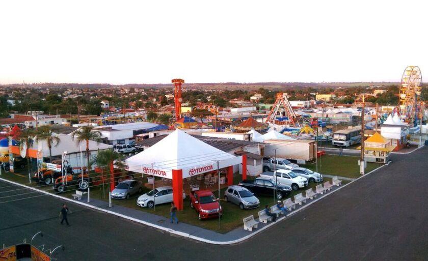 A Expopar acontece de 28 de junho a 5 de julho no Parque de Exposições Daniel Martins Ferreira