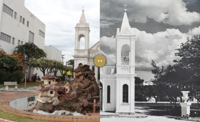 No link abaixo, o internauta poderá conferir o antes e depois de diversos pontos da cidade.