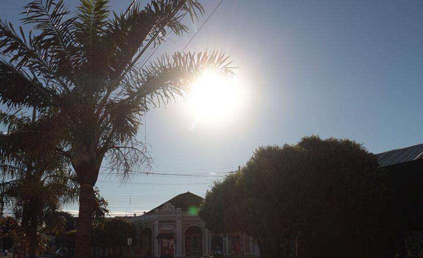 Terça-feira será de calor e sem previsão de chuva em Três Lagoas