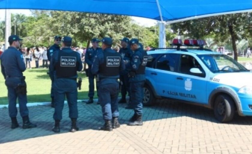 Policiais militares de Três Lagoas preparam para este sábado, na praça Ramez Tebet, uma manifestação contra o governo do Estado