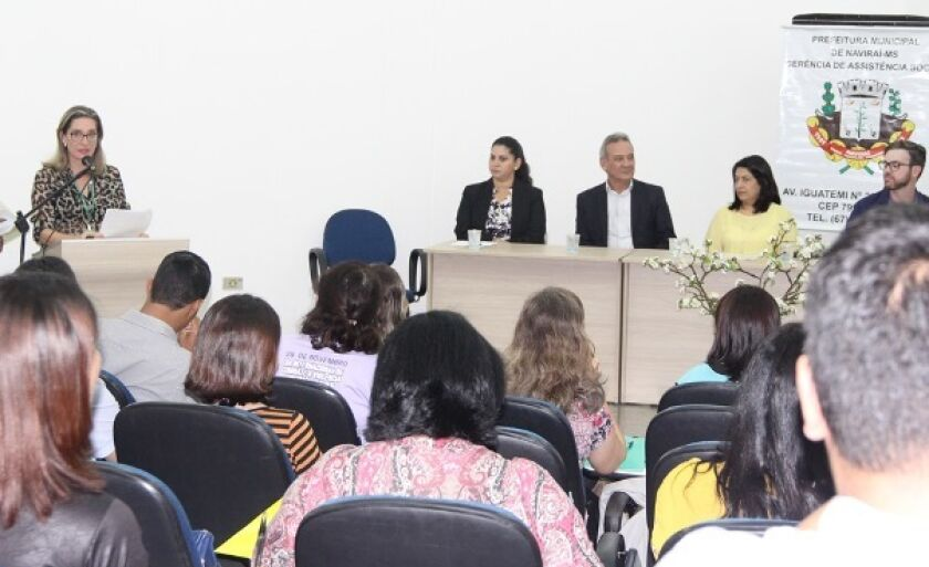 Naviraí recebeu na semana passada o evento, que reuniu mais de 150 profissionais em dois dias de palestras