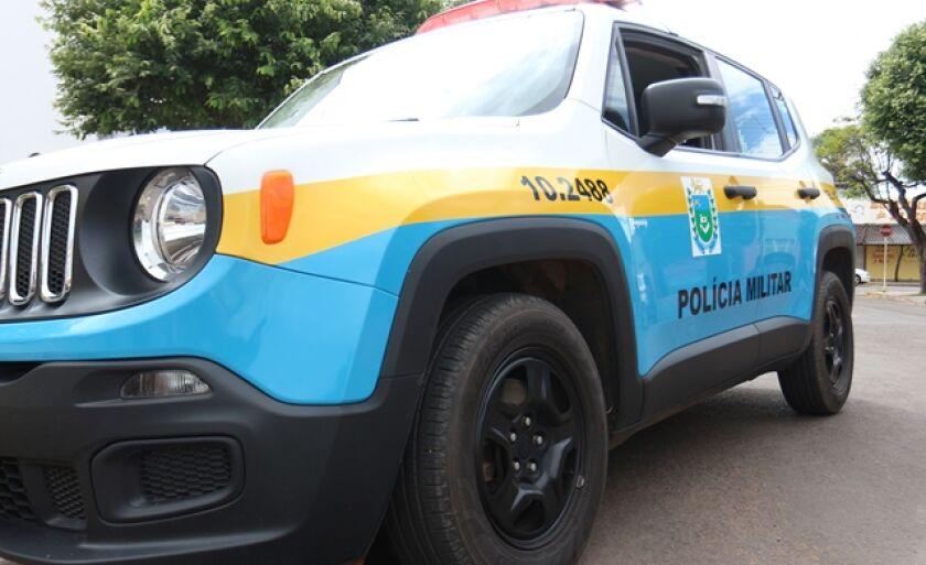 Os policiais da Rádio Patrulha atenderam a ocorrência