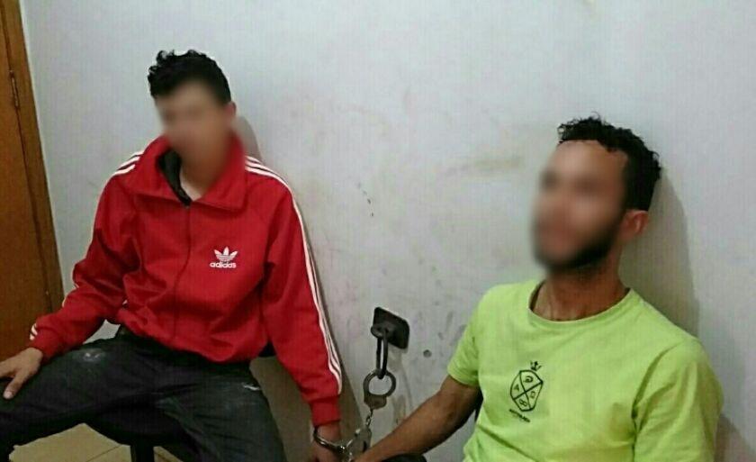Os dois envolvidos foram presos em flagrante