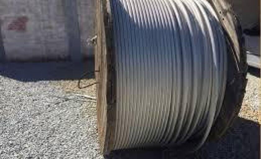 Os cabos seriam utilizados eram para trabalhos de eletrificação na cidade e zona rural.