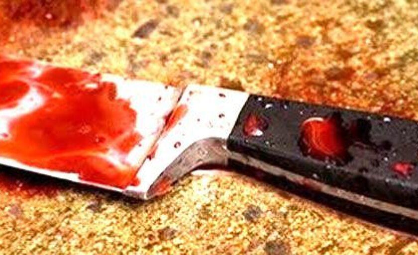 Foi apreendido no local um aparelho celular LG e um canivete