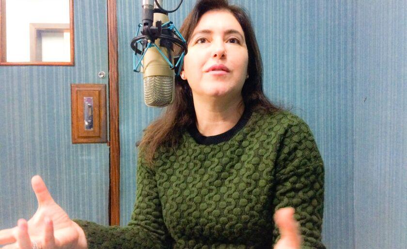 Simone Tebet nos estúdios do Grupo RCN em Três Lagoas