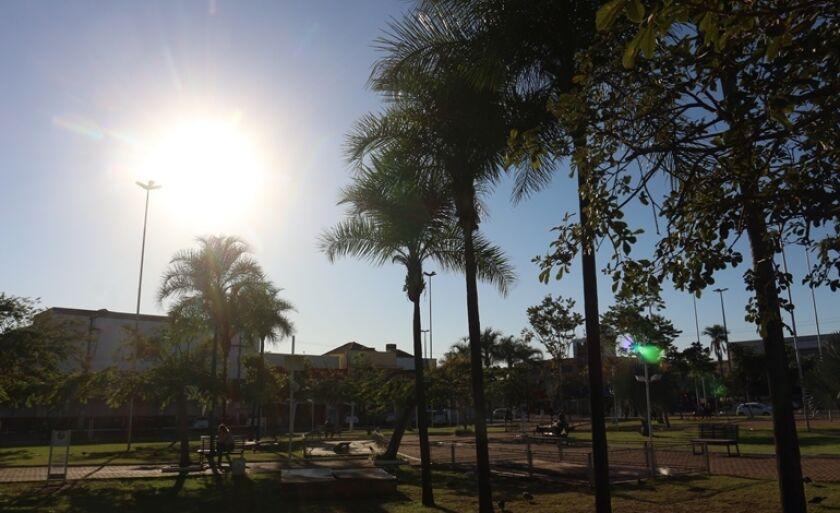 Praça Ramez Tebet- área central de Três Lagoas
