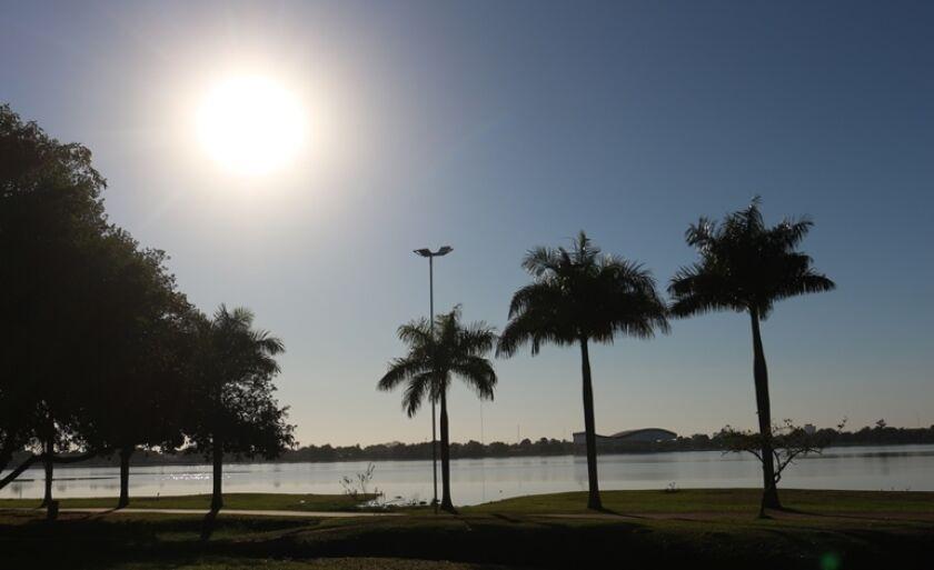 Lagoa Maior em Três Lagoas