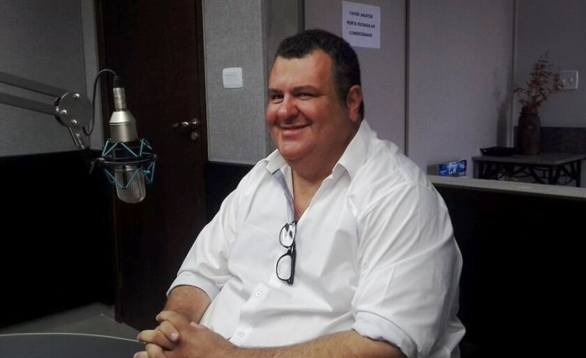 Issam fares Junior, em entrevista ao RCN Notícias da Cultura FM