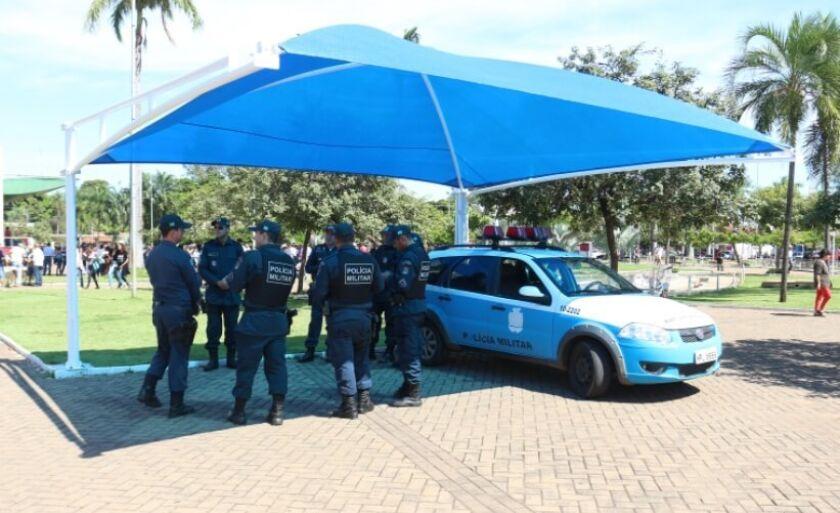 Veículos estariam parados no 2º Batalhão da Polícia Miitar de Três Lagoas