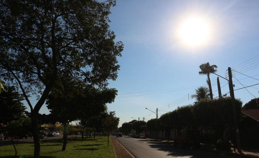 Quinta-feira será quente em Três Lagoas