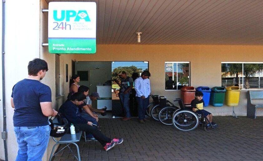 Pacientes buscam atendimento na Unidade de Pronto Atendimento (UPA), em Três Lagoas