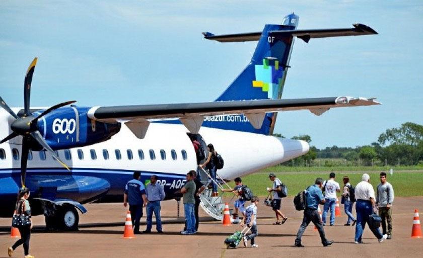 Nesta semana, Azul passou a operar com dois voos no município