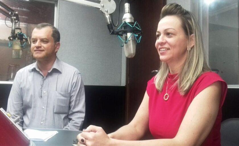 Presidente da Associação Comercial e o diretor do Procon, em entrevista ao Jornal RCN Notícias da Rádio Cultura FM