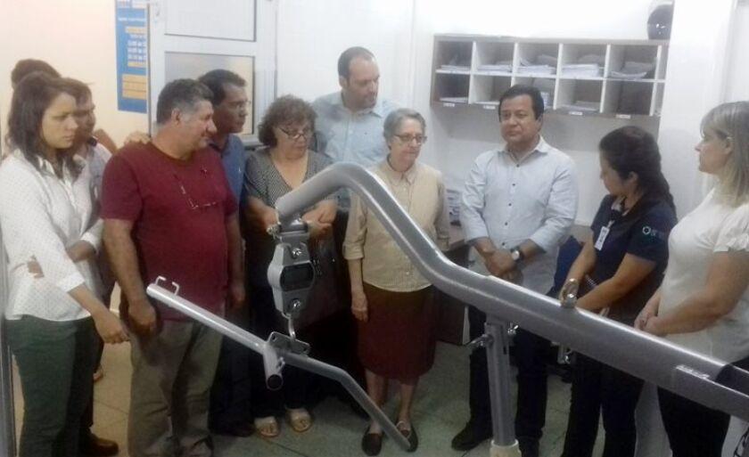 Parlamentar visitou as instalações do hospital na tarde desta quinta-feira