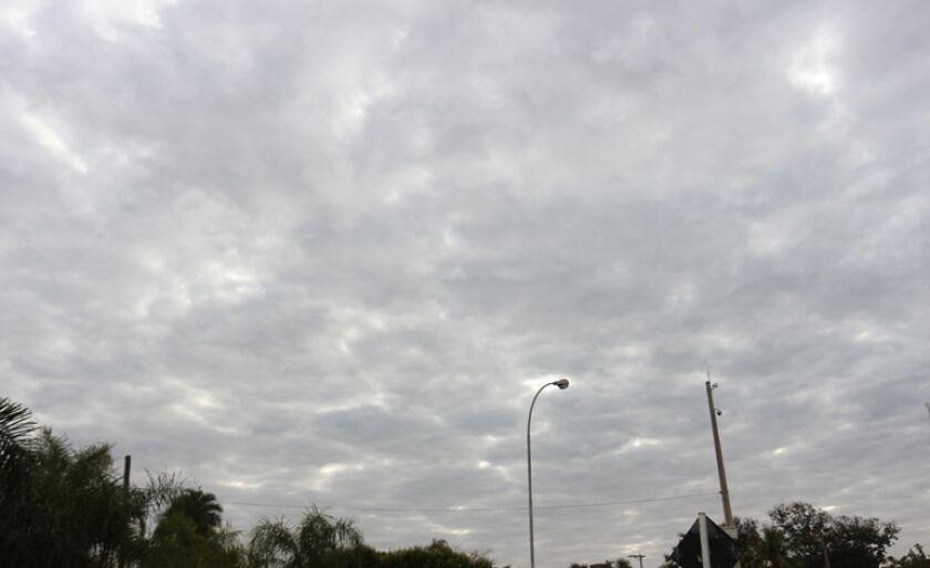 Quarta amanheceu nublada em Três Lagoas