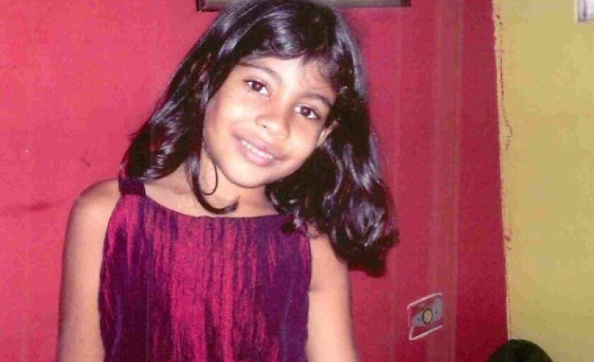 Isabel morreu atropelada uma semana antes de completar sete anos