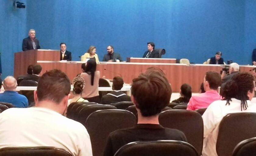 Ângelo Guerreiro participou da abertura dos trabalhos do Legislativo no segundo semestre