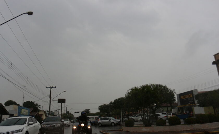 Quinta-feira será chuvosa em Três Lagoas