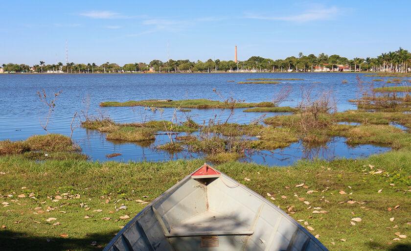 Lagoa Maior e a beleza contemplada diariamente por moradores e turistas