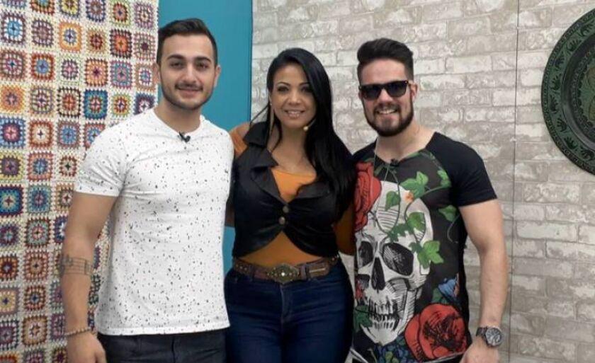 "A dupla sertaneja Manu e Rafael na ""Sala Musical"""